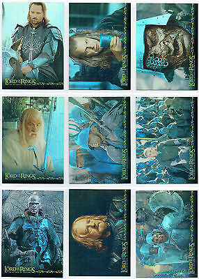 Lord Of The Rings Return Of The King Foil Card Singles