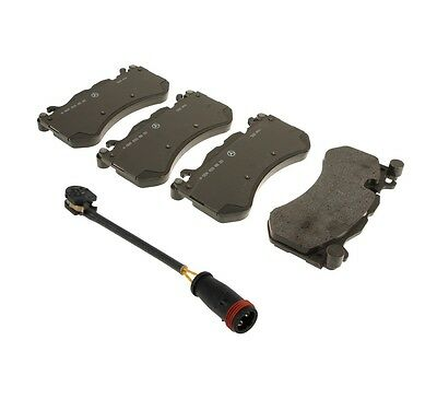 For MB Front Brake Pads Pad Set Genuine OE 0048920+Sensor 17106 VIN#REQUIRED