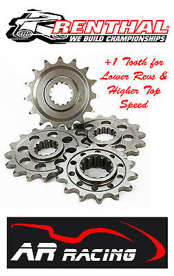 Renthal 17 T Front Sprocket 289-525-17 for Triumph Tiger 800 / XC 2011-2014