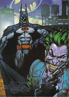 Batman Master Series Promotional Card