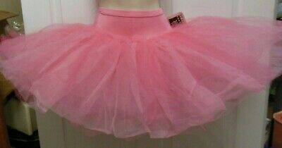 "NWT GRADUATED Rose short 6 tier Panty TUTU Ballet top skirt 15"" adlt  #74906"