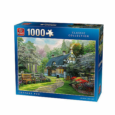 1000 Piece Jigsaw Puzzle - Country Cottage Village Pub - New Addition 05356