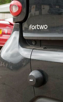 R&G Racing Rear Bumper Bump Stops to fit Smart Fourtwo & Fourtwo Cabriolet