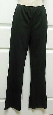 NWT Bootcut Stretch Black DANCE PANTS PULLUP child/MENS Unisex 71002 Theatrical