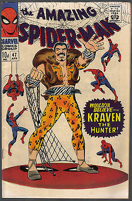 Amazing Spiderman Issue 47 Produced By Marvel Comics