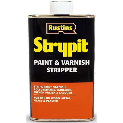 Rustins Strypit Paint and Varnish Stripper Remover 500ml Strips Paint Varnish
