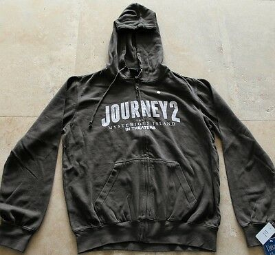Journey 2  -Official Movie Sweatshirt (L) Giveaway Swag Promotional