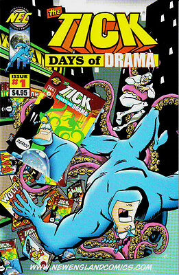 The Tick Days Of Drama 1-6 Complete Set/lot Arthur New England Comics Tv Series