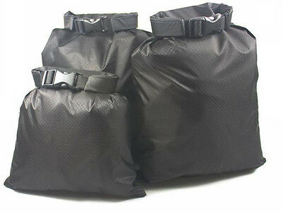3pc set Waterproof Storage Bags Lightweight Dry Sack for Outdoor Camping G469