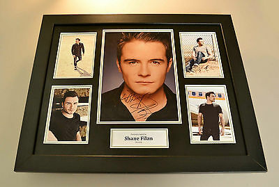 Shane Filan Signed Photo Large Framed Westlife Memorabilia Autograph Display COA