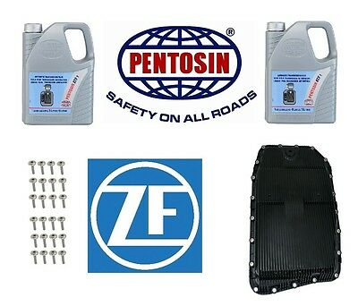 ZF Filter Kit & Oil Pan with Auto Trans Fluid 10-L (with GA6HP19Z Transmission)