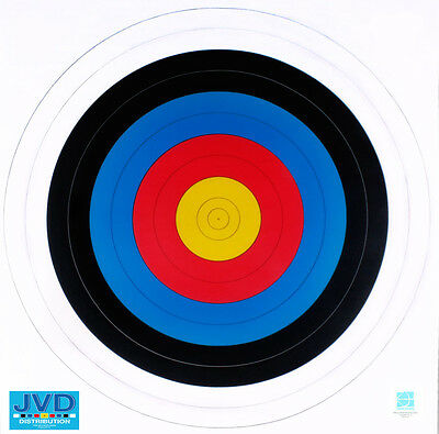 Multi Pack JVD 40cm FITA Paper Archery Target Targets Faces Boss 10, 25, 50