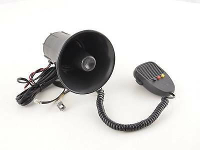Electronic Horn with 3 Sirens Police Sounds and Microphone