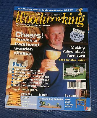 Practical Wood Working September 2000 - Cheers!