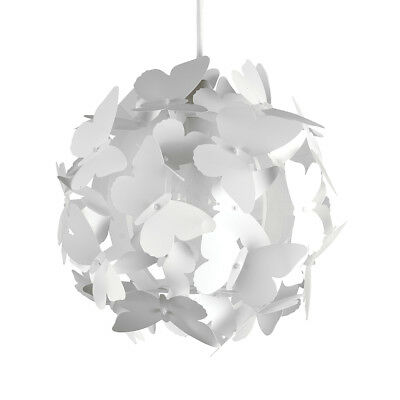 Modern White Butterflies Ceiling Pendant Light Lamp Shade Chandelier Lights NEW