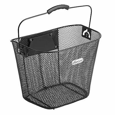 eSecure Metal Mesh Wire Front Handlebar Bike Bicycle Cycle Shopping Basket