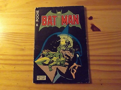 Batman Poche - N°6 - Dc Comics - 1977