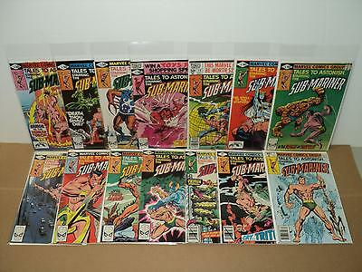 Tales to Astonish 1-14 COMPLETE-SET! Sharp! 1979-1981 Marvel (set# 1004)