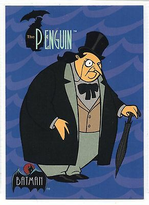 The Penguin - Batman The Animated Series (1993) Base Trading Card #22