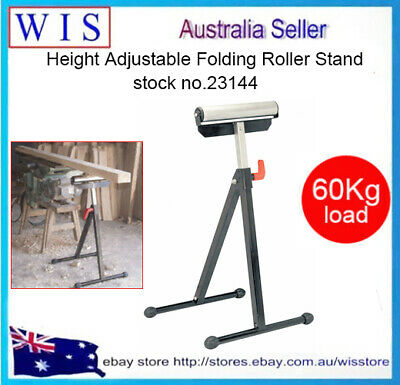 Adjustable Single Roller Stand,Sawhorse,Adjustable Work Support,60Kg Load-23144