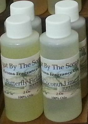 A Lot Of Fragrance Oils 1/2 and 2 Oz Flowers Scents Free Shipping