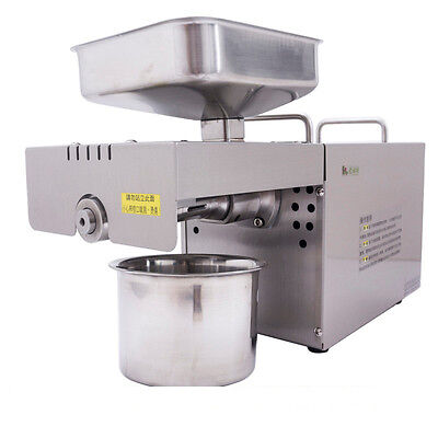 Oil Extractor Auto Nut Seeds Olive Oil Expeller Oil Press machine 110V
