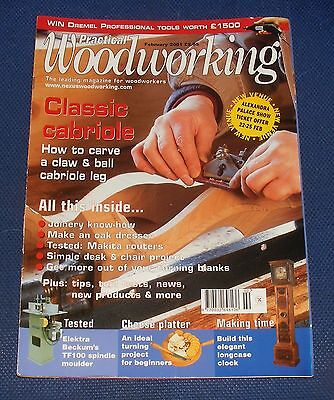 Practical Wood Working February 2001 - Classic Cabriole