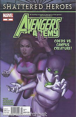 Avengers Comic Issue 24 Academy Modern Age First Print 2012 Gage Sotomayor