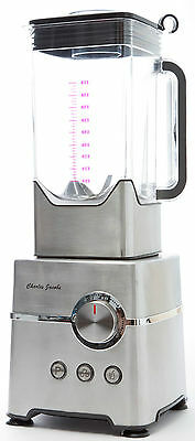 Charles Jacobs Food BLENDER Commercial 2000W Stainless Steel Modern Mixer 2L Jug