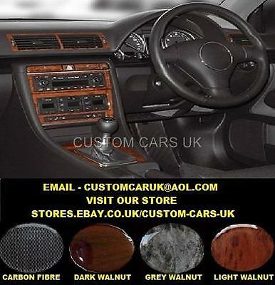 Walnut Or Carbon Fibre Dash Kit Audi A4 S4 Cabriolet Quattro Avant B6 2000-2006
