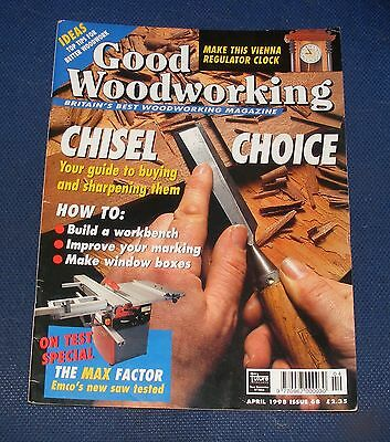 Good Woodworking April 1998 - Chisel Choice