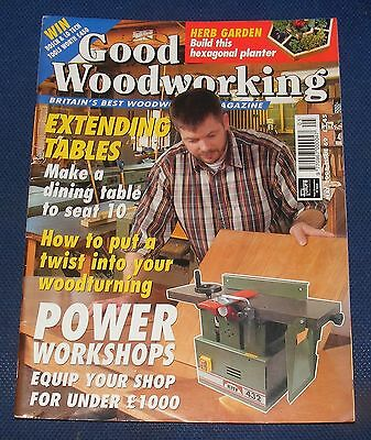 Good Woodworking May 1998 - Extending Tables