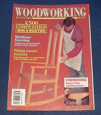 Woodworking May 1991 - Making Nursery Furniture