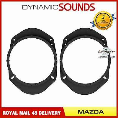 CT25MZ02 Speaker Adaptor Panel Rings Pod Fitting Kit For Mazda 3 (2010 Onwards)
