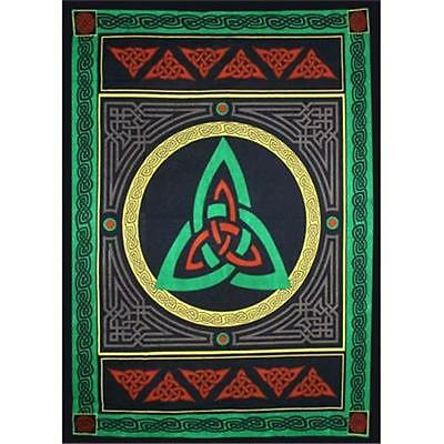 Triquetra Cotton Tapestry!