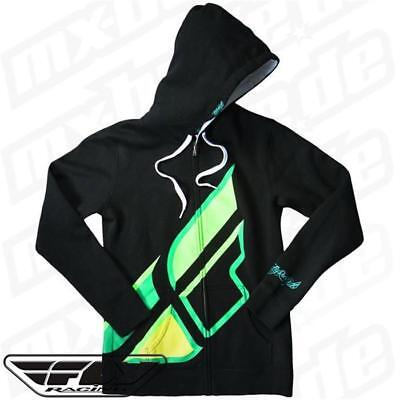 Fly Racing Motocross Enduro Quad Cross MX MTB BMX NEU Zip Hoody Girls Contempt