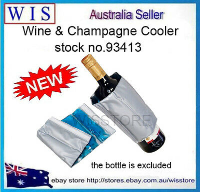 Bottle Cool Deluxe Wine & Champagne Chiller Sleeve,Wine Cooler Sleeve-93413