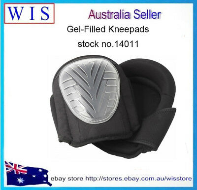 Gel Filled Knee Pads for Work,Professional Gel Knee Pads w Adjustable Strap14011