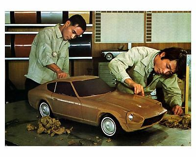 1968 1969 Datsun 240Z Z432 JDM Clay Model Photo Poster zca1850
