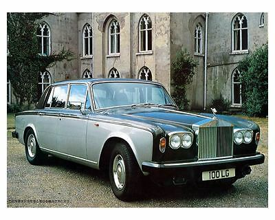 1978 Rolls Royce Silver Shadow Photo Poster Japanese zca1903