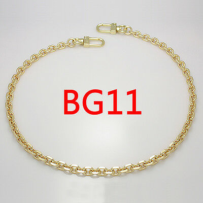 BG11 purse metal chain strap replacement gold crossbody shoulder strap handbag