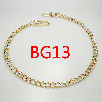 BG13 purse metal chain strap replacement gold crossbody shoulder strap handbag