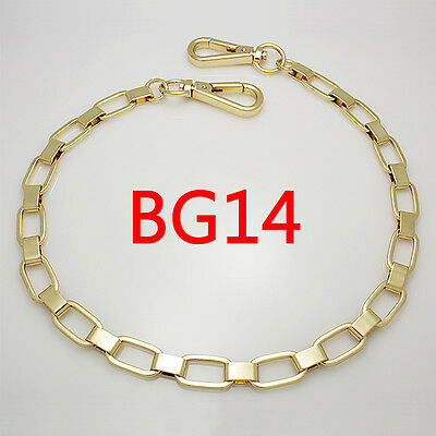 BG14 purse metal chain strap replacement gold crossbody shoulder strap handbag