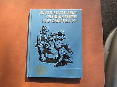 US Army Training Center Fort Campbell Kentucky Yearbook Co E 6th BN 2nd Brigade