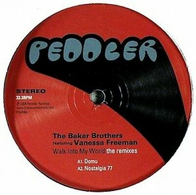 The Baker Brothers - Walk Into My World (The Remixes) 12""