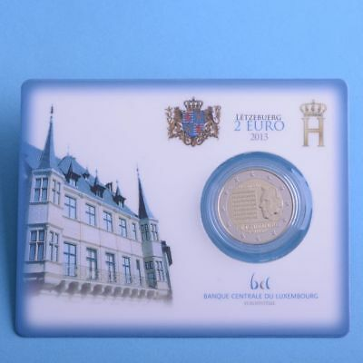 "Luxemburg 2 Euro 2013 ""Nationalhymne"" Coincard"