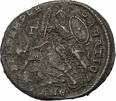 CONSTANTIUS II Constantine the Great son Ancient Roman Coin Battle Horse i46449