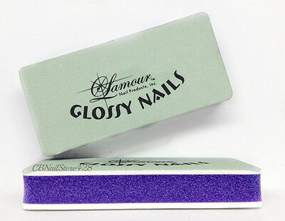 Lamour - Glossy Nails Buffers Size Small 3.5 in - 2 counts