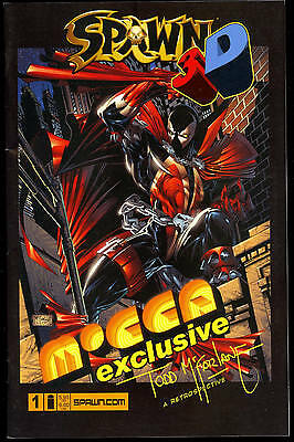 Spawn #1 3D Mocca Exclusive Todd Mcfarlane 1/1000 Glasses Attached