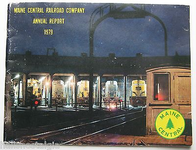 Maine Central Railroad Company Annual Report 1979